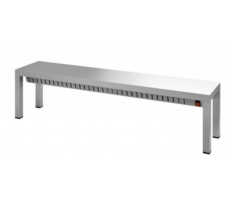 Combisteel Etagere stainless steel Heated - Heat bridge - Choice of 6 sizes