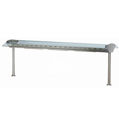 Combisteel Glasbrücke mit Licht / Wärme - 4 Größen