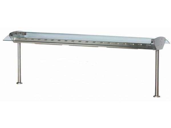 Combisteel Glass Bridge with illumination - 4 sizes