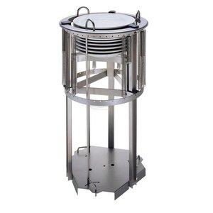 XXLselect Schilder Aufzug 470mm | für Platten mit einem Durchmesser von 210-290mm | bis zu 55 Platten