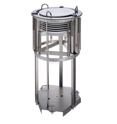 Combisteel Schilder Aufzug 470mm | für Platten mit einem Durchmesser von 210-290mm | bis zu 55 Platten