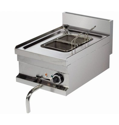 XXLselect Pastakoker Elektrisch | 14 liter | Aftapkraan | 230V | 400x600x(H)265mm