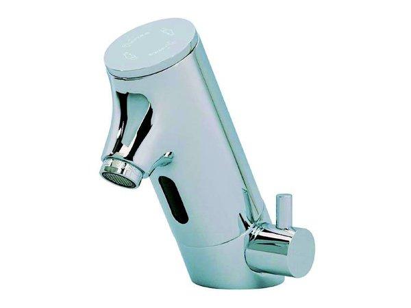 XXLselect Infrared Crane Short - INOX - Robust - Chrome - 6Liter / Minute - (H) 165 mm