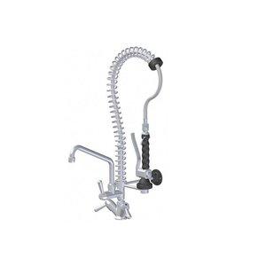XXLselect Vorspülenmaßeinheit MINI - 18 Liter / Minute - Mini mit Viertel zwischen Tap - (H) 750 mm