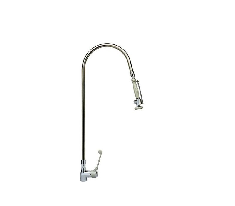 XXLselect Pre-Rinse Unit - 16Liter / Minute - Stainless Steel - (H) 980mm