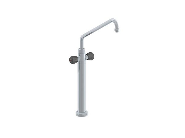 XXLselect Column Cranes Deluxe - Enkelgats - Chrome - Wame / Cold Tap - (H) 670 mm