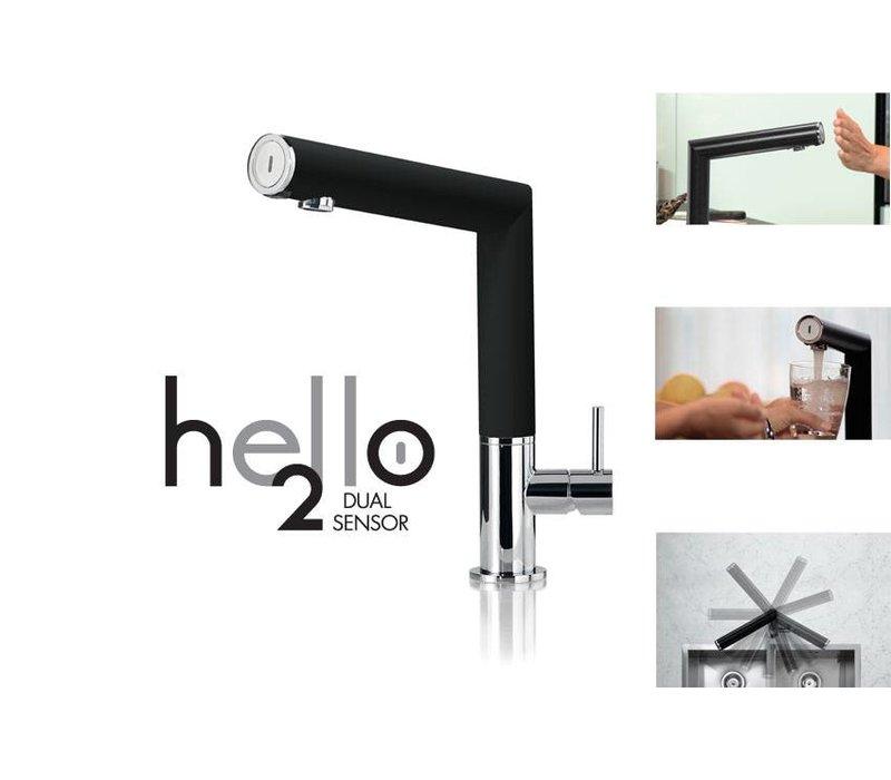 XXLselect Infraroodkraan Hello 100 Dual sensor - Op batterij - 4 kleuren