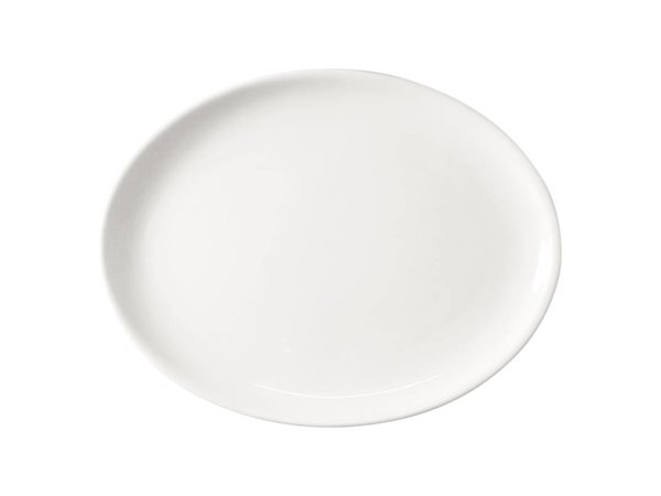 Athena Hotelware Athena Oval Coupe Plate - 25 cm - Price per 12 pieces