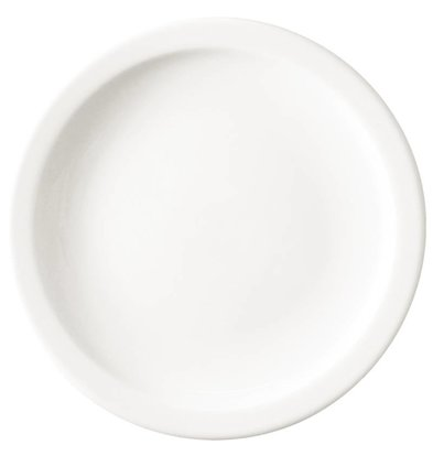 Athena Hotelware Athena Plate Narrow Ridge - 16.5 cm - Available in 5 sizes