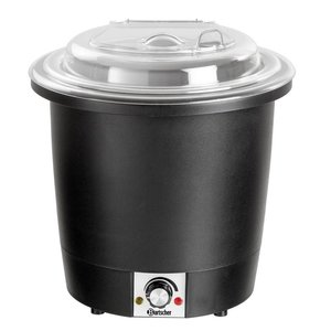 Bartscher Electric Stockpot 10 Liter - Lid Transparent