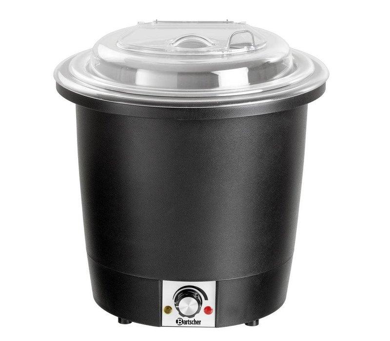 Bartscher Electric Stockpot 10 Liter - Lid Transparent
