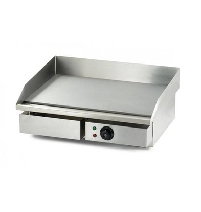 XXLselect Electric griddle - 55x47x (h) 23cm - 3kW