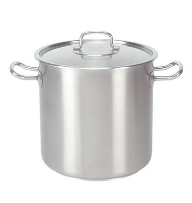 XXLselect Casserole / Stockpot stainless steel - High with Lid - 3 liters CHOICE OF 12 SIZES