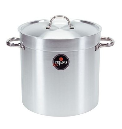 XXLselect Casserole / Stockpot Aluminum - High Model, with lid 12 liters - CHOICE OF SIZES 9