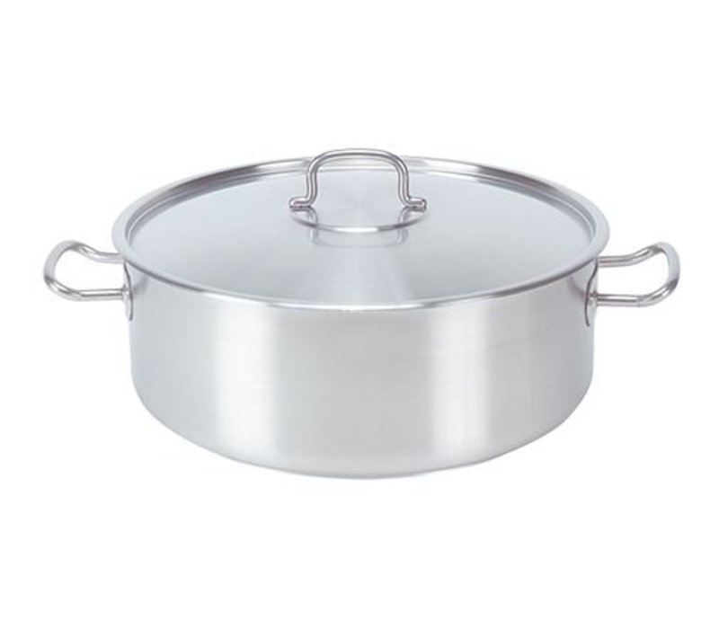 XXLselect Casserole / Stockpot stainless steel - Low Model - 1.5 Liter - 9 SELECTION OF SIZES