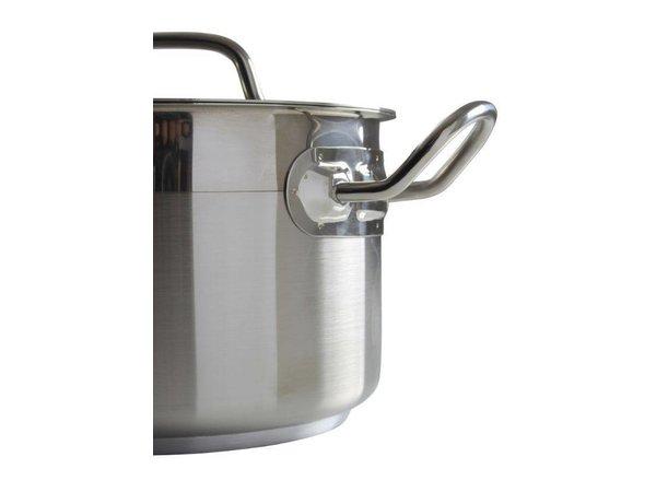 Hendi Kookpan / Soeppan RVS Middel Model - 2 Liter - KEUZE UIT 6 MATEN