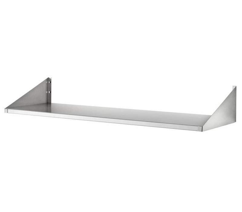 Bartscher Stainless steel plates shelf - 200mm Deep - CHOICE OF 4 SIZES