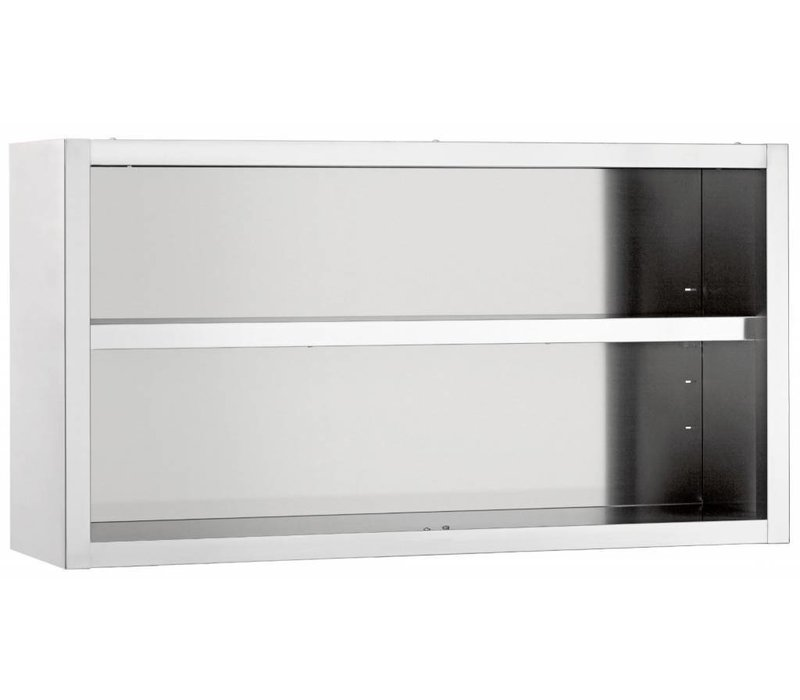 Bartscher Wardrobe SS | Open Model 1 Adjustable Between Tools | 1000x400x60 (h) mm | CHOICE OF 6 WIDTHS