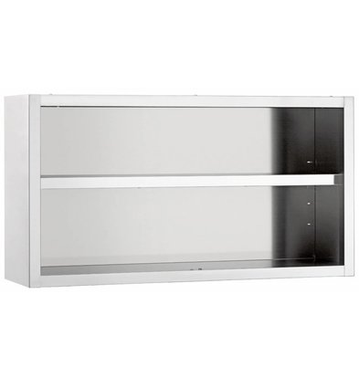 Diamond Wardrobe SS   Open Model   Between 1 Adjustable Shelf   600x400x600 (h) mm   CHOICE OF 4 WIDTHS