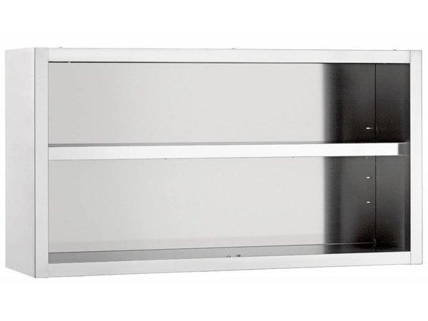 Diamond Kleiderschrank SS | Modell öffnen | Zwischen 1 justierbares Regal | 600x400x600 (h) mm | Auswahl von 4 WIDTHS