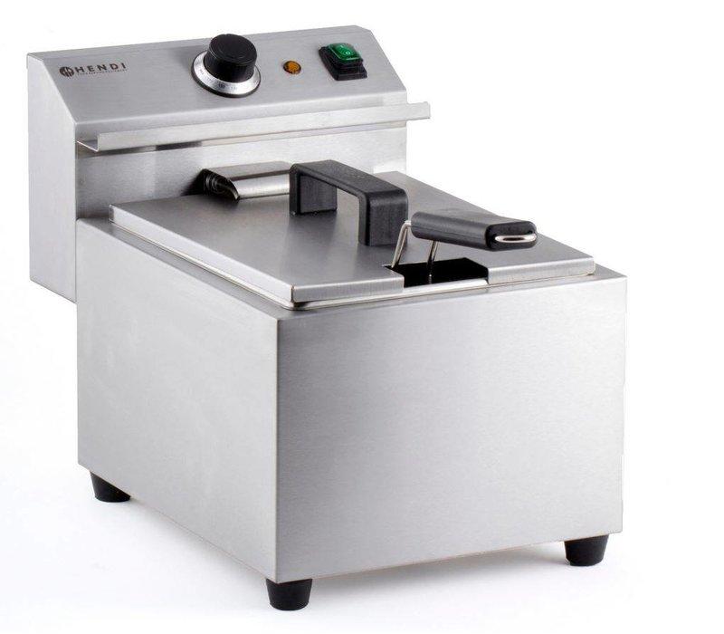 Hendi Fryer Meisterkoch | 8 Liter | 3,5kW | 455x300x (H) 345mm