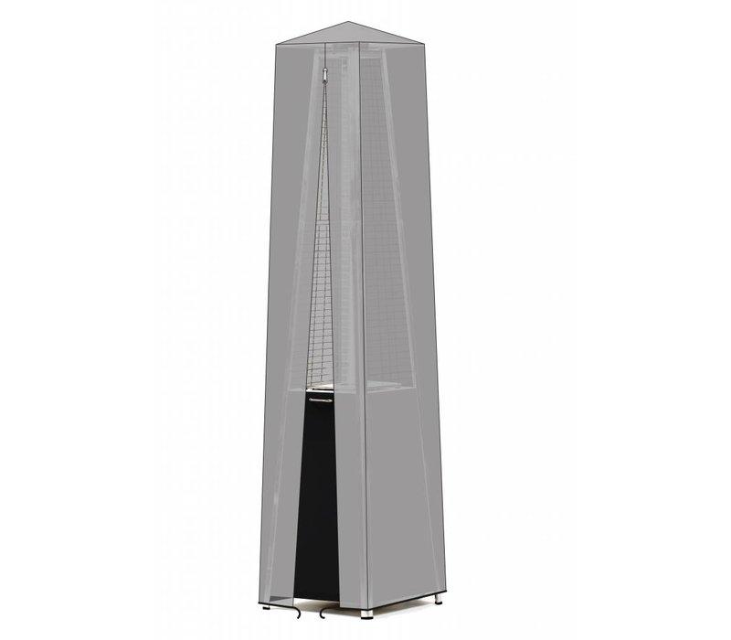 Hendi Terrasverwarmer Piramide op Propaangas | Compleet met Gasslang en Drukregelaar | 11,2 KW
