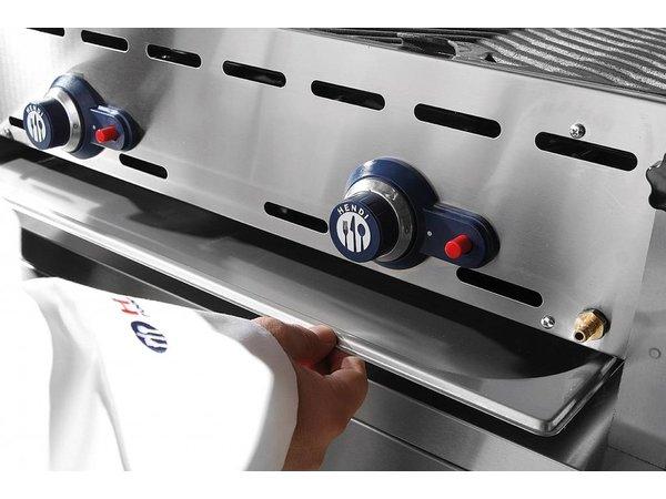 Hendi Hendi Green Fire Barbecue burners 3 XL + Wheels | BBQ Professional 1078x612x (h) 825 mm | WATCH VIDEO