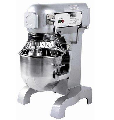 Combisteel Planet Mixer | 10 Liter | Tpm 100-178-355 | 0:45 kW | 452x432x (H) 606mm