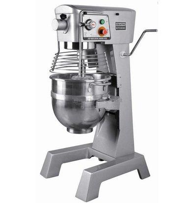 Combisteel Planeetmenger | 30 Liter | 100-187-365 Tpm | 1.1 kW | 446x512x(H)852mm