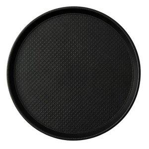 XXLselect Dienblad Heavy Duty | Zwarte Antislip laag | Ø38cm
