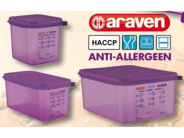 Araven Antiallergen Lila Nahrungsmittelkasten