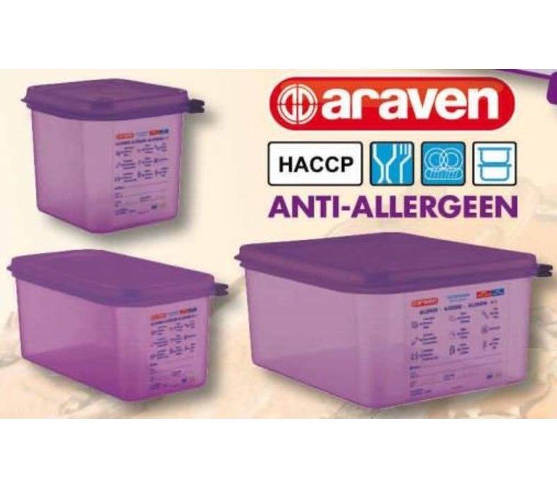 Araven Anti-Allergeen Paars Voedseldoos