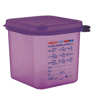 Araven Anti-allergenic Purple Food Box