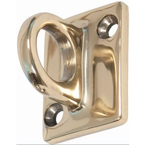 XXLselect Brass (Gold) wall hook for sales cord - 37x49mm