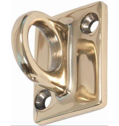 XXLselect Messing (Gold) Wandhaken für den Vertrieb Kabel - 37x49mm