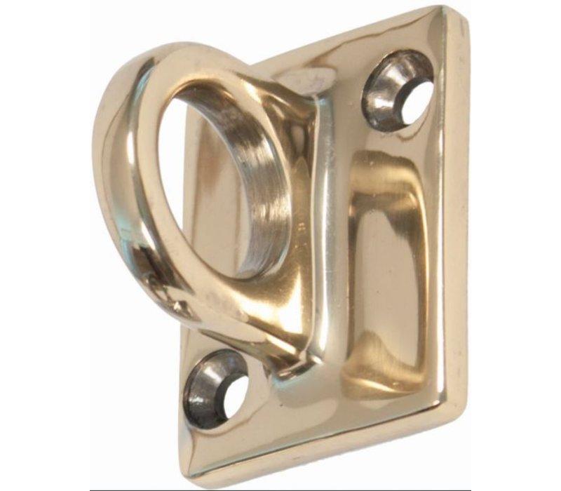 XXLselect Brass (Gold) wall hook for sales cord - 37x49mm