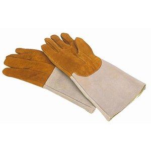 XXLselect Ofenhandschuh aus Leder   Beständig gegen 300C