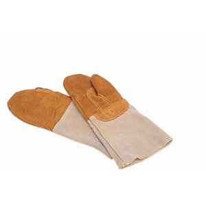 XXLselect Oven Glove Leather | Mittens Bakers | 42cm