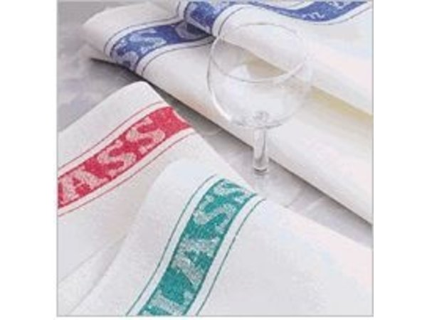 XXLselect Glass Cloth Linen / Cotton - Available in 3 colors - Price per piece