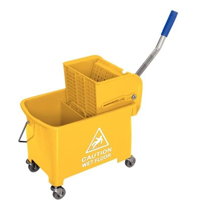 XXLselect Mop bucket with wringer - 3 colors - 350x280x (H) 480mm