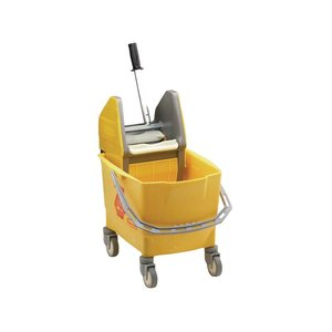 XXLselect Driving mop bucket with wringer Pro - 4 colors