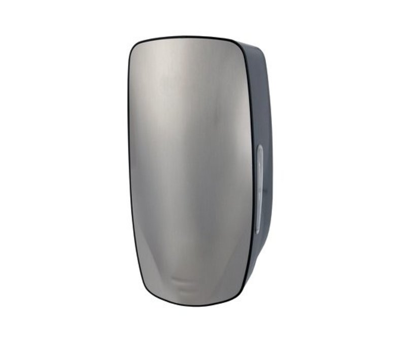 XXLselect Foam Soap Dispenser - Stainless Steel Front - 120x130x (h) 255mm - 900ml