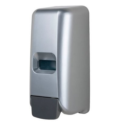 XXLselect Foam Soap dispenser plastic stainless steel look - 118x110x (h) 275 - 1000ml