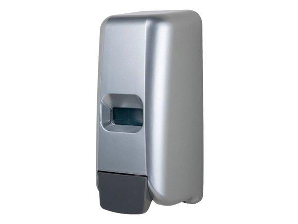 XXLselect Schaumseifenspender Kunststoff Edelstahl-Look - 118x110x (h) 275 - 1000 ml