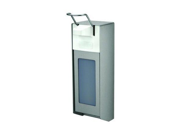 XXLselect Garagezeepdispenser aluminium - 2 maten - 1000ml