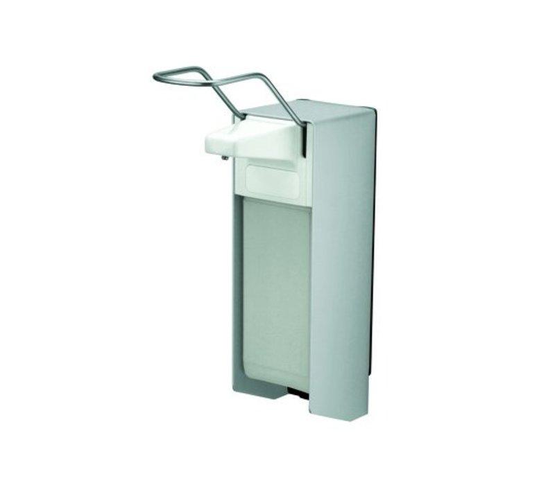 XXLselect Soap and disinfectant dispenser - 225x94x (h) 324mm - 1000ml