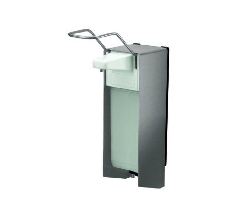 XXLselect RVS Zeep- & desinfectiemiddeldispenser - 94x225x(h)324mm - 1000ml