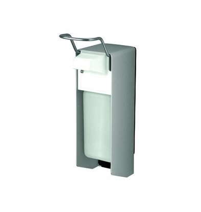 XXLselect Aluminium Zeep- & desinfectiemiddel Dispenser - 151x80x(h)287mm - 500ml
