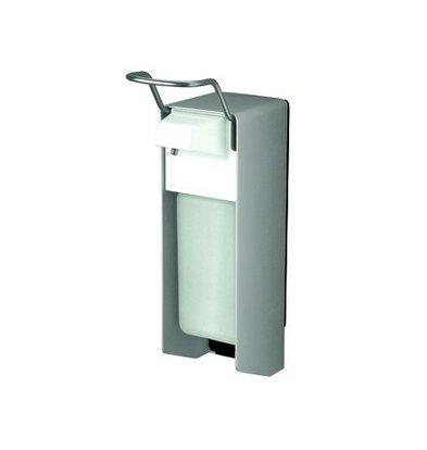 XXLselect Aluminum & Desinfektionsmittel Seifenspender - 151x80x (h) 287mm - 500ml