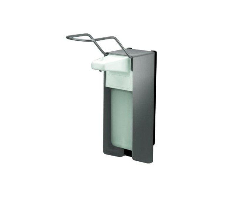 XXLselect RVS Zeep- & desinfectiemiddeldispenser - 220x80x(h)298 - 500ml